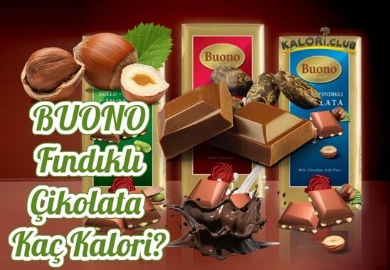 Buono Çikolata Kaç Kalori?