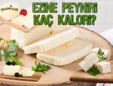 Ezine Peynir Kaç Kalori?