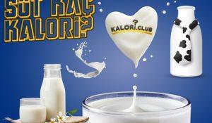 Süt Kaç Kalori?