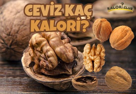 Ceviz Kaç Kalori? Cevizin Kalorisi ve Besin Değerleri