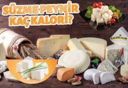 Süzme Peynir Kaç Kalori? Süzme Peynir Kalorisi ve Besin Değerleri
