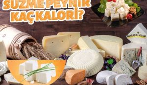Süzme Peynir Kaç Kalori?