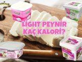 Light Peynir Kaç Kalori?