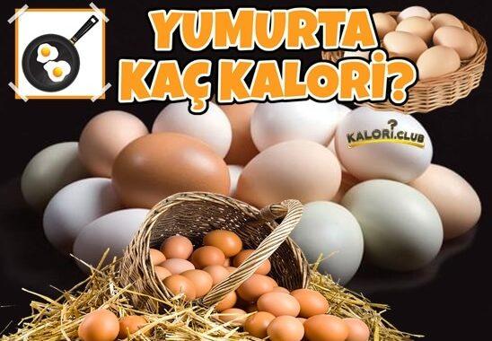 Yumurta Kaç Kalori?