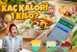 1 Kilo Kaç Kalori?