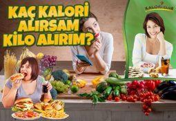 Kaç Kalori Alırsam Kilo Alırım?