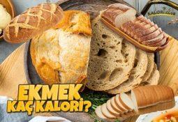 Ekmek Kaç Kalori?