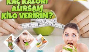 Kaç Kalori Alırsam Kilo Veririm?