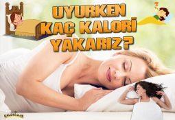 Uyurken Kaç Kalori Yakarız?