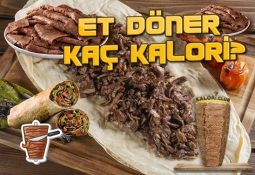 Et Döner Kaç Kalori? Kalorisi Ve Besin Değerleri