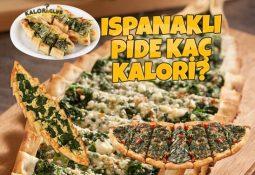 Ispanaklı Pide Kaç Kalori? Kalorisi Ve Besin Değerleri