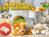 Mantar Kaç Kalori? Kalorisi Ve Besin Değerleri