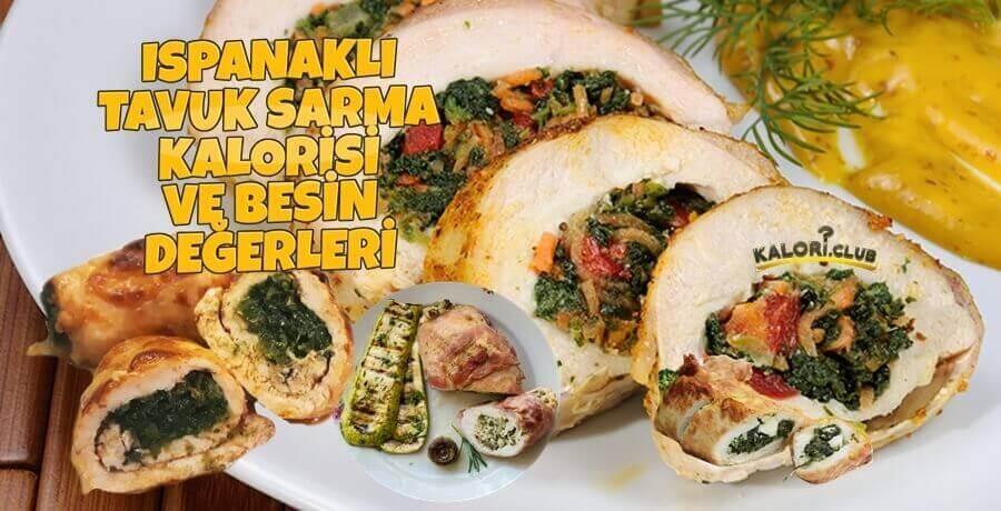 Ispanaklı Tavuk Sarma Diyette Yenir Mi? Kilo Aldırır Mı