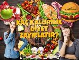 Kaç Kalorilik Diyet Zayıflatır?