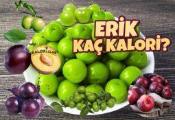 Erik Kaç Kalori? Kalorisi ve Besin Değerleri