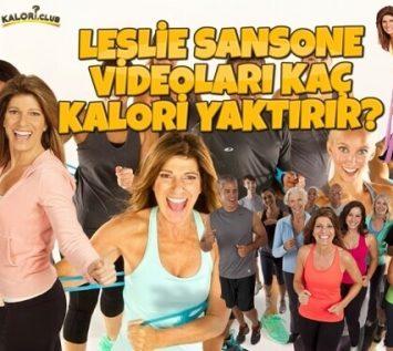 Leslie Sansone Kaç Kalori Yaktırır?
